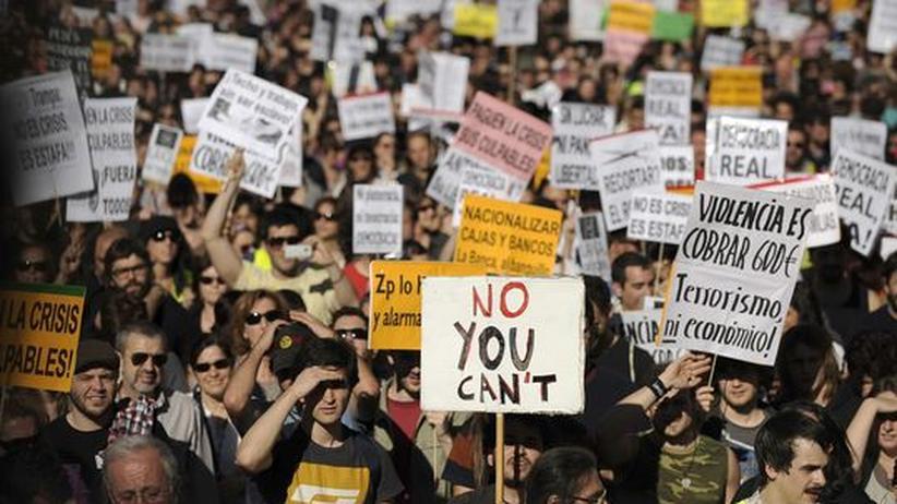 Spanien: Die Kämpfer von der Puerta del Sol