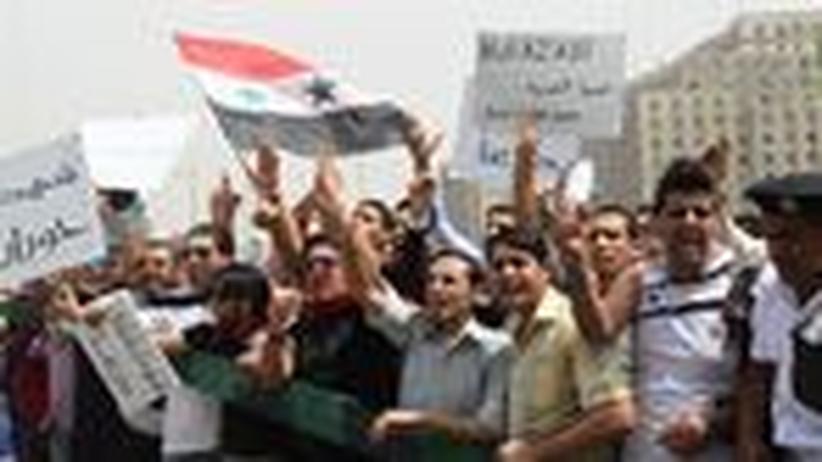 """Syrien: """"Die Bewegung wächst jeden Tag"""""""
