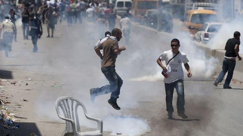 Qalandia-Checkpoint bei Jerusalem