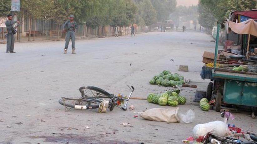 Selbstmordattentat: Viele Tote und Verletzte bei Anschlag in Afghanistan