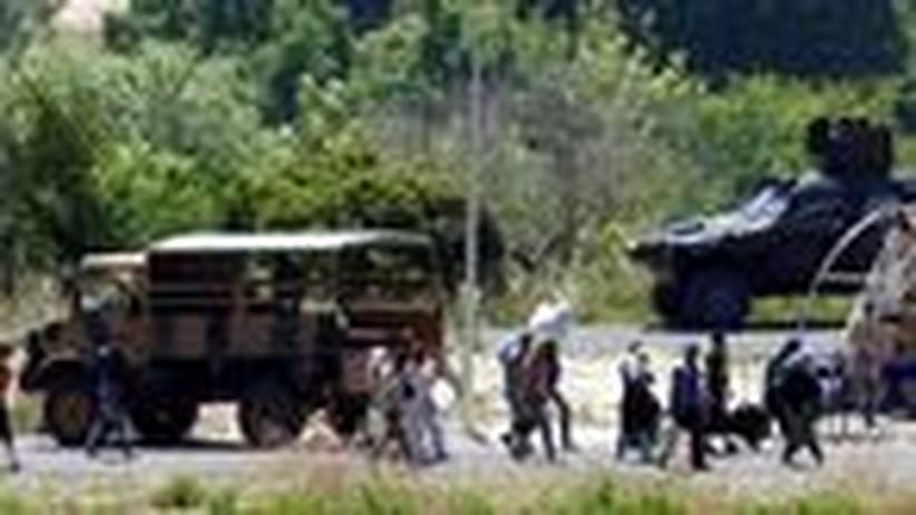 Türkisches Grenzgebiet: Willkommen im freien Syrien