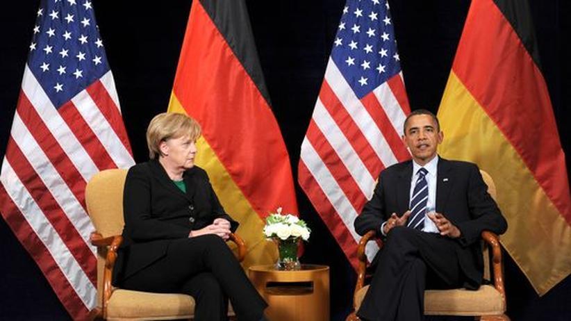 Merkel in Washington: USA wollen mehr deutsche Verlässlichkeit