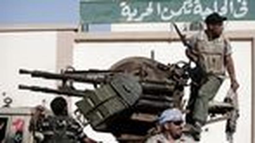 """Libyen-Krieg: """"Die Nato kann die Aktion nicht abbrechen"""""""