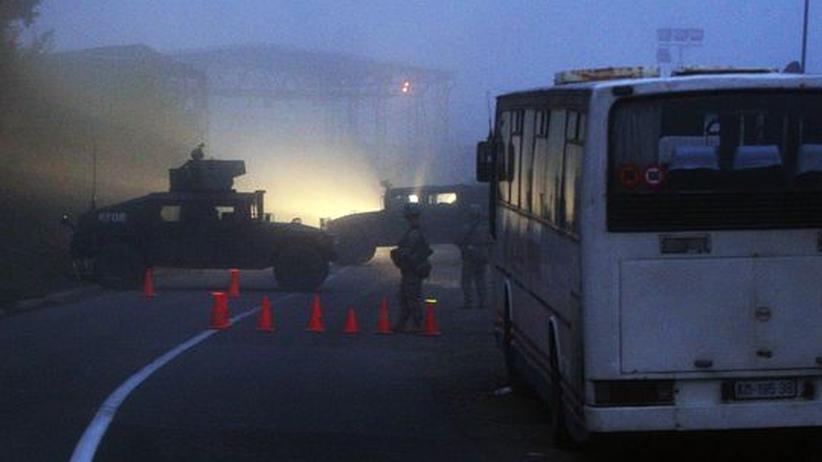 Attacke auf Grenzstation: Nato übernimmt die Kontrolle in Jarinje