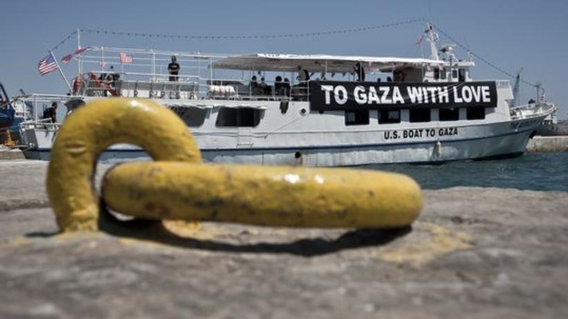 Nahost-Konflikt: Athen nimmt Kapitän der Gaza-Hilfsflotte fest