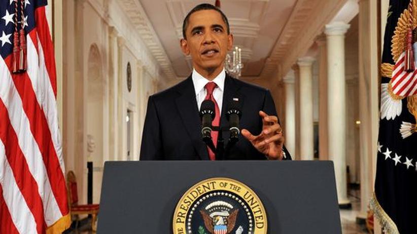 """US-Schuldengrenze: Obama wirft Republikanern """"politischen Krieg"""" vor"""
