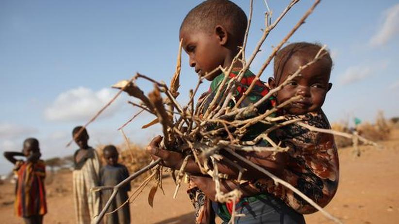 Hungersnot in Ostafrika: Aus der Not ins Niemandsland