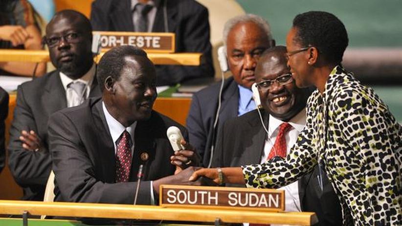 Vereinte Nationen: UN nehmen Südsudan in die Völkergemeinschaft auf