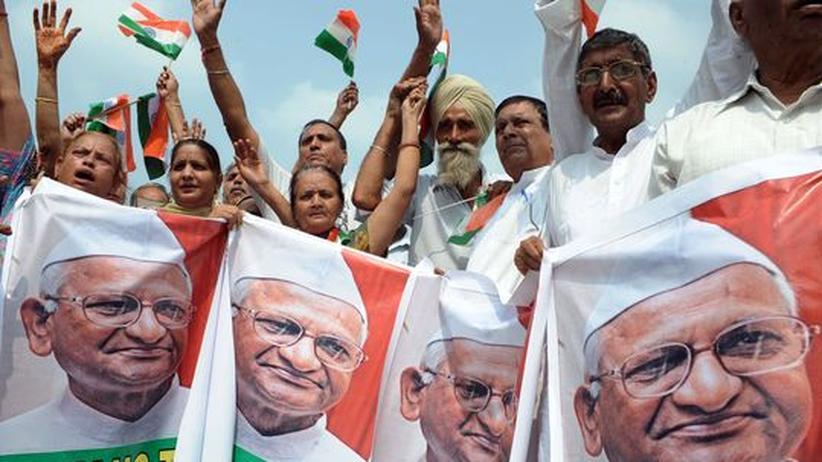 Korruption: Indien im Protestfieber