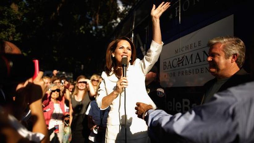 US-Präsidentschaftskandidaten: Die Gewinnerin des Straw Poll, Michele Bachmann