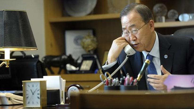 Gewalt in Syrien: Ban sucht Kontakt zu Syriens Regierung