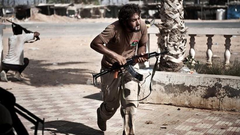 Krieg in Libyen: Libysche Rebellen nehmen wichtige Stadt ein