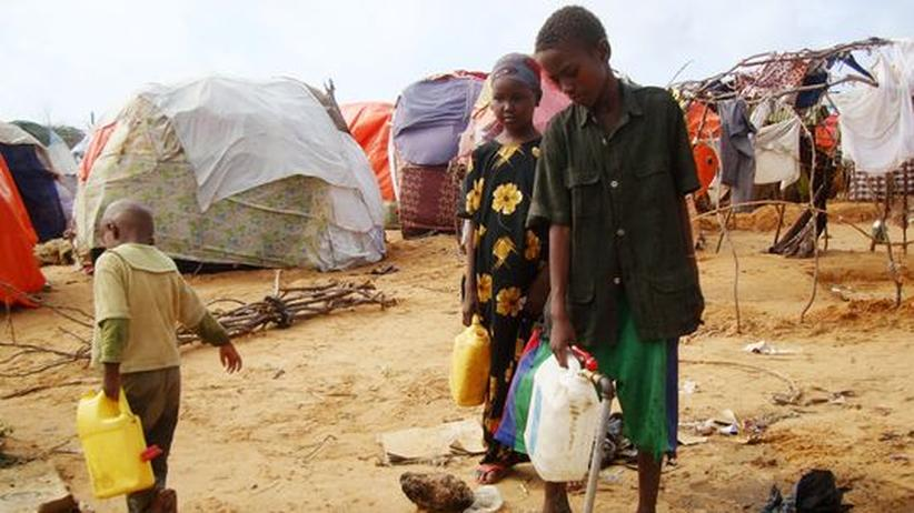 Hungerkatastrophe: Cholera verschärft die Lage in Somalia