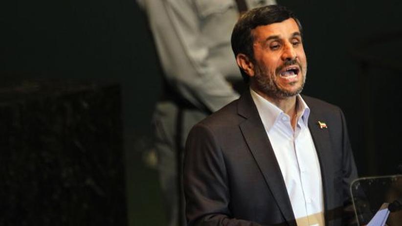 UN-Generaldebatte: Ahmadineschad provoziert Eklat in New York