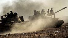 Panzer des libyschen Übergangsrates
