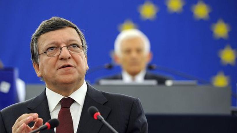 Barroso im Parlament: EU-Kommission verlangt Finanztransaktionssteuer