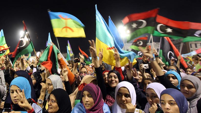 Umsturz in Libyen: Libyens Frauen hoffen auf den Neuanfang