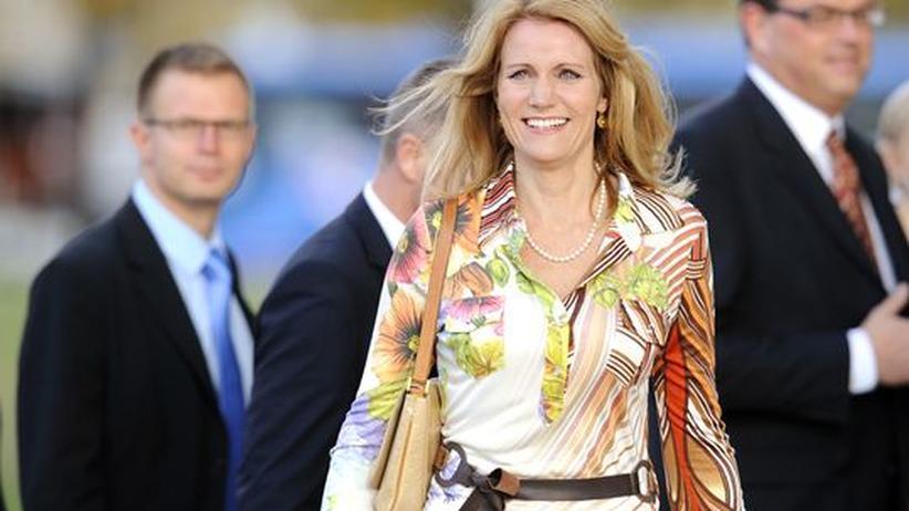 Helle Thorning-Schmidt: Helle Thorning-Schmidt, künftige Regierungschefin Dänemarks mit Sinn für Mode