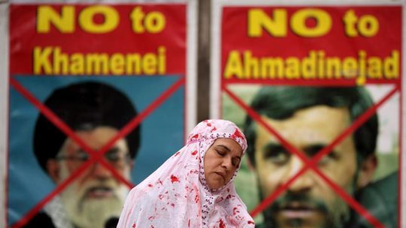 Bahman Nirumand: Protest gegen das iranische Regime in London