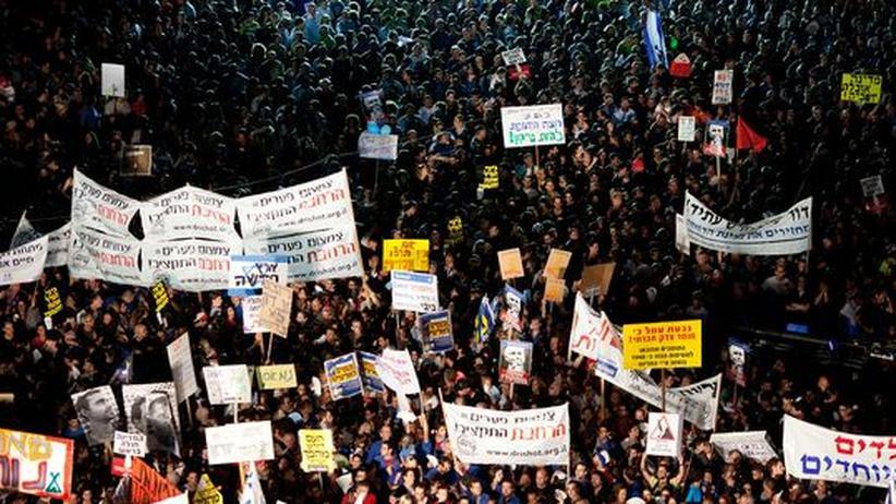 Proteste in Israel: 450.000 Menschen demonstrieren gegen Regierung