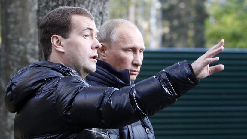 Putin und Medwedjew: Postenvergabe in Kumpelmanier