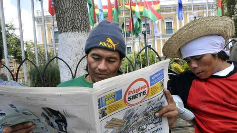Bolivien: Präsident Morales verzichtet auf Straßenbau