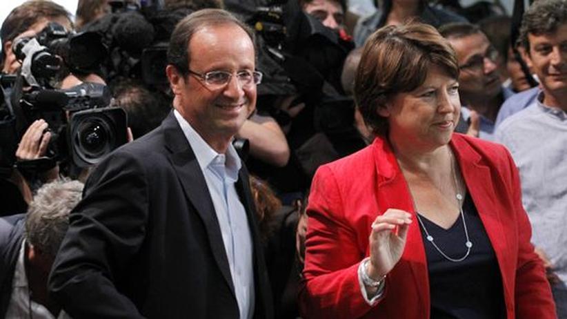 Frankreichs Sozialisten: Hollande und Aubry müssen in die Stichwahl