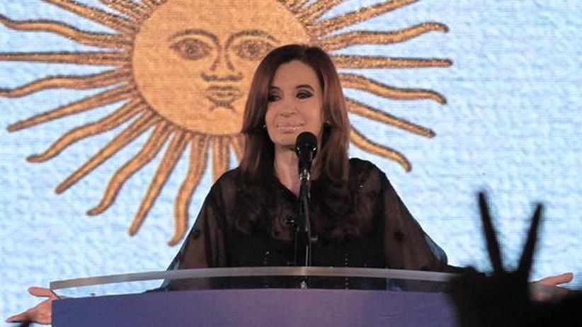 Präsidentschaftswahl: Argentiniens Präsidentin gewinnt in der ersten Runde