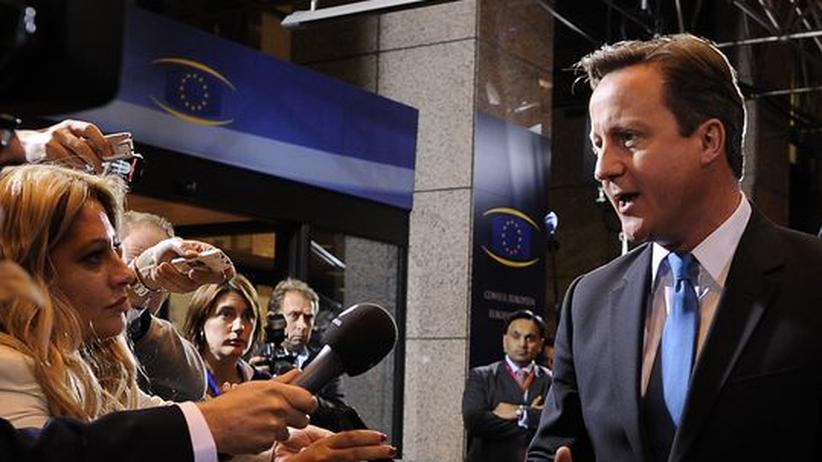 Großbritannien: Cameron in der Europa-Klemme