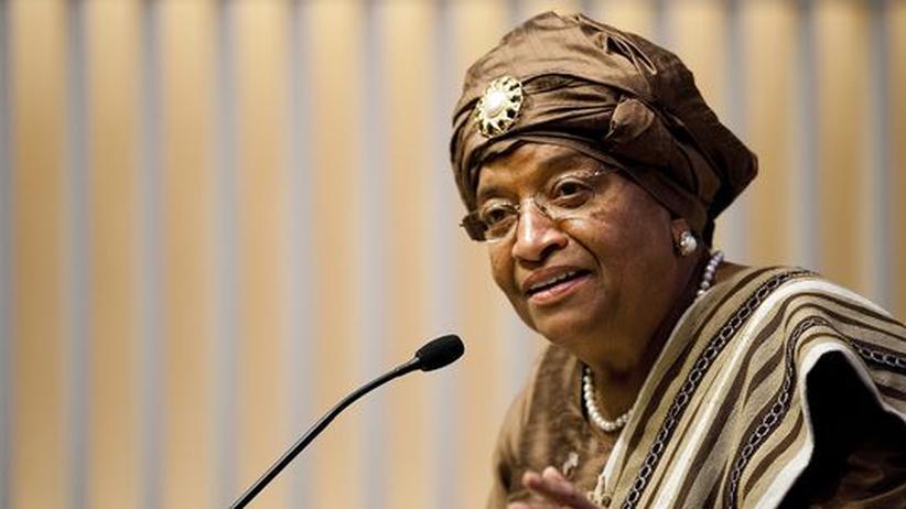 Nobelpreis: Liberias Präsidentin Ellen Johnson-Sirleaf