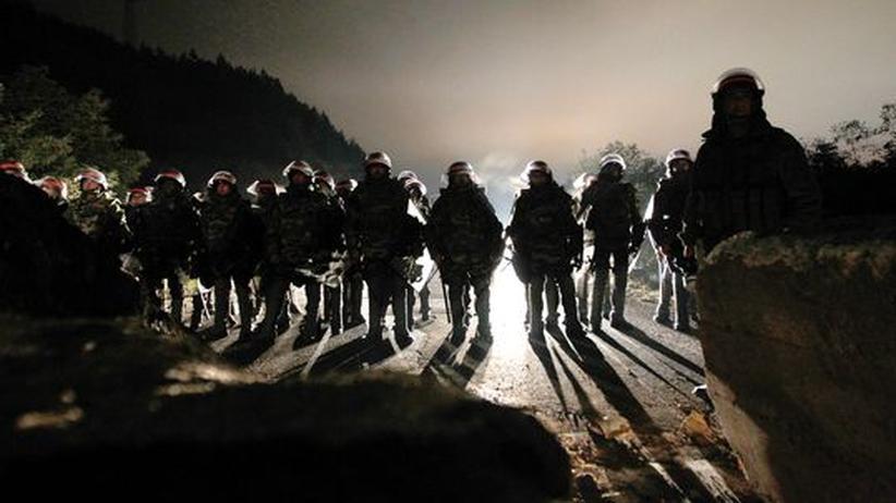 Grenzkonflikt: Kosovo-Serben schlagen Kompromiss vor