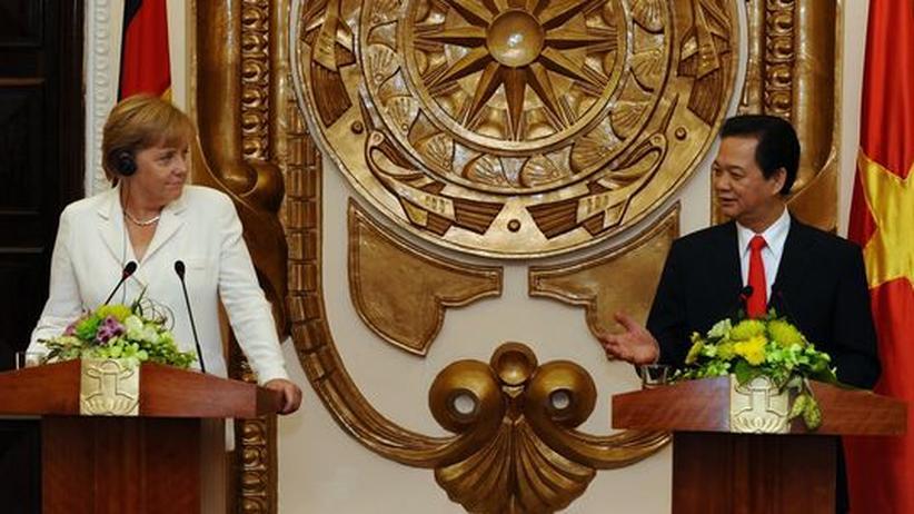 Staatsbesuch: Merkel stärkt Zusammenarbeit mit Vietnam