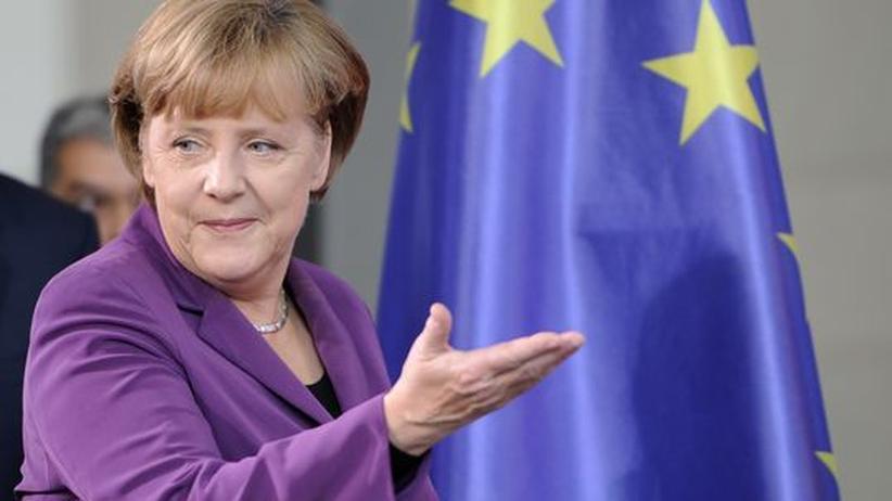 Euro-Krise: Merkel will schnelle Änderung der EU-Verträge