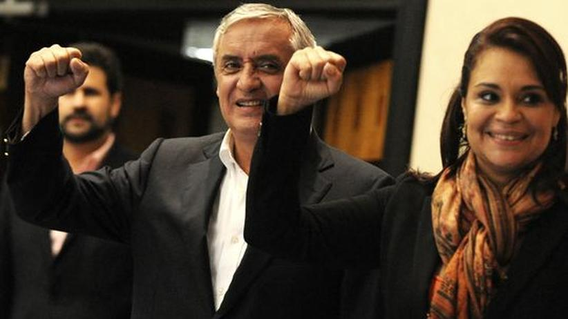 Präsidentenwahl: Pérez Molina wird neuer Präsident Guatemalas