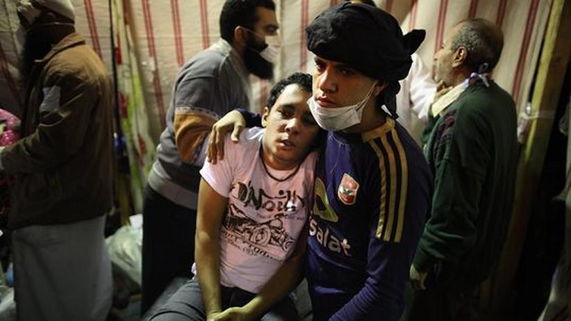 Ägypten: Die Tränengas-Hölle von Kairo