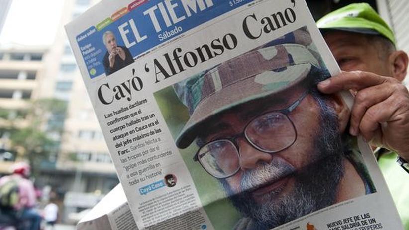 Kolumbien: Canos Tod trifft die Farc hart