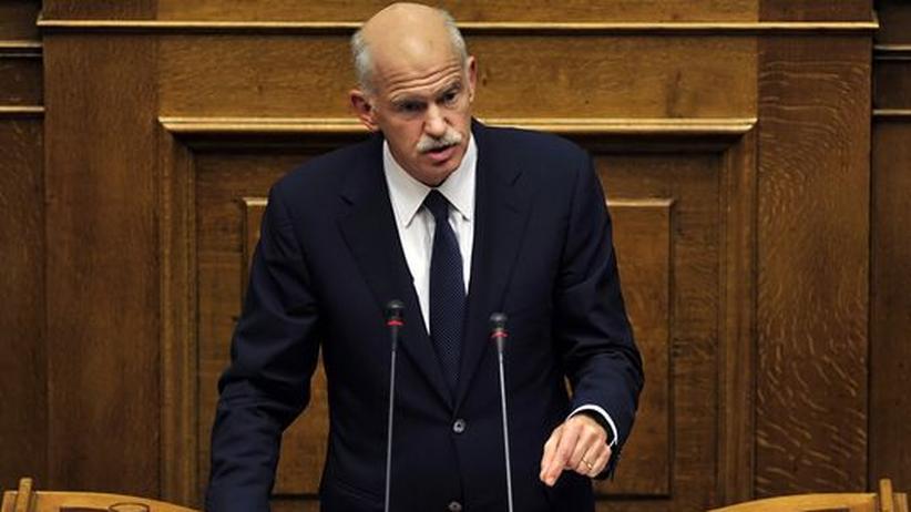 Griechenland: Papandreou treibt sich selbst aus dem Amt