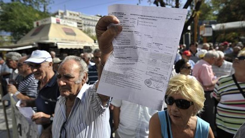 Schuldenkrise: Griechenland will Namen von Steuersündern veröffentlichen