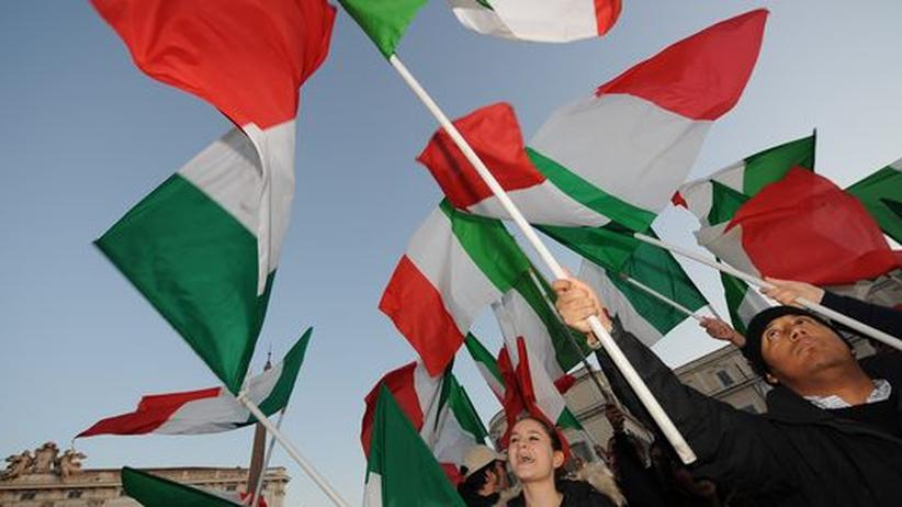 Berlusconis Rücktritt: Italien ringt um eine Übergangsregierung