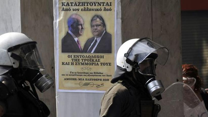 Griechenland: Huch, das Volk!