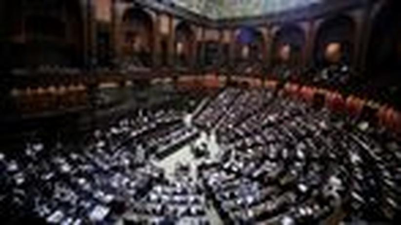 Krise in Italien: Berlusconis versprochener Rücktritt