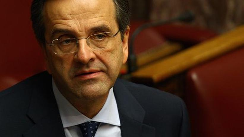 Schuldenkrise: Griechenlands Konservative bekennen sich zu Sparprogramm