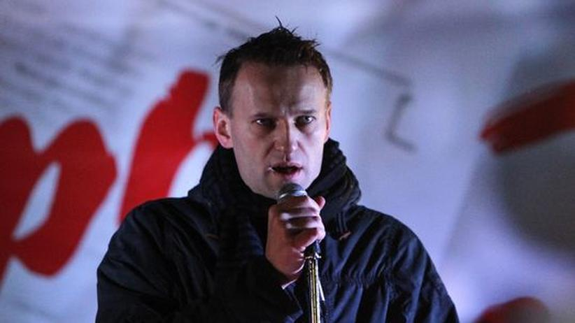 Russland: Der russische Blogger Alexej Nawalnij