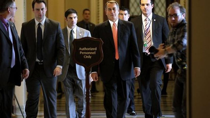 US-Haushaltskompromiss: Republikaner und Demokraten wenden Staatspleite ab