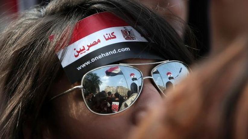 Ägypten: Demonstranten auf dem Tahrir-Platz in Kairo