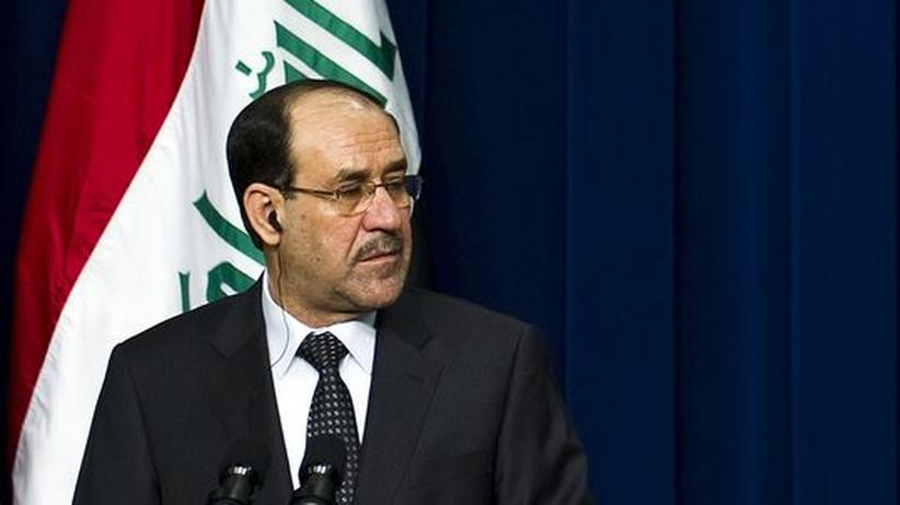 Al-Maliki: Iraks Premier Nouri al-Maliki