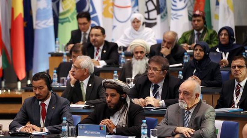 Die afghanische Delegation