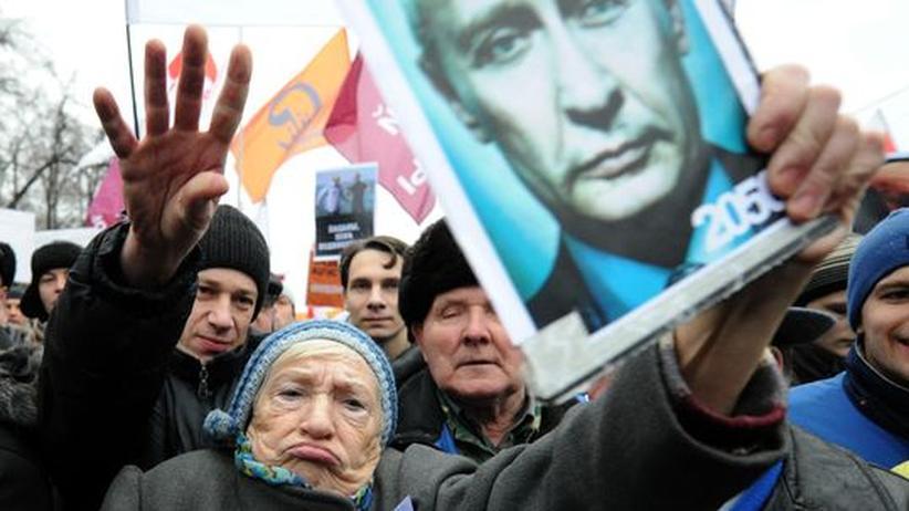 Russische Parlamentswahl: Größte Demonstration seit Beginn der Ära Putin