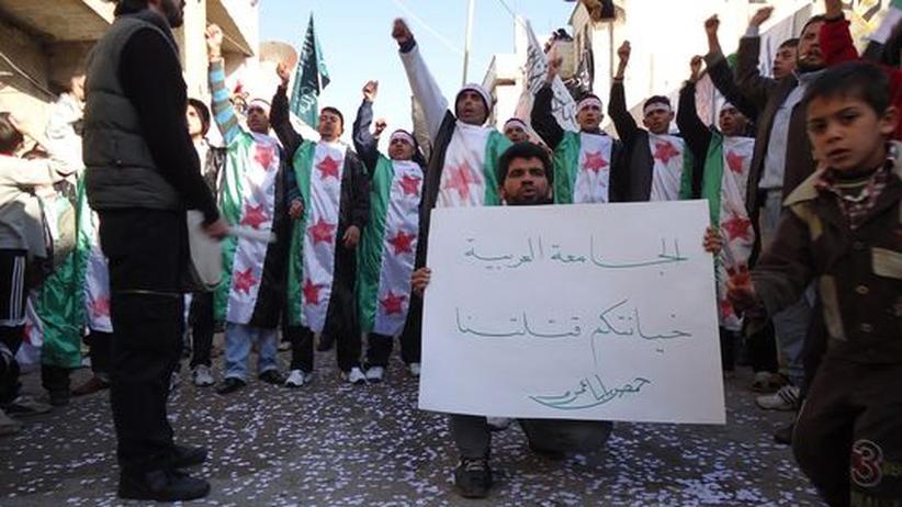 Syrien: Das umkämpfte Homs ruft nach internationalen Beobachtern
