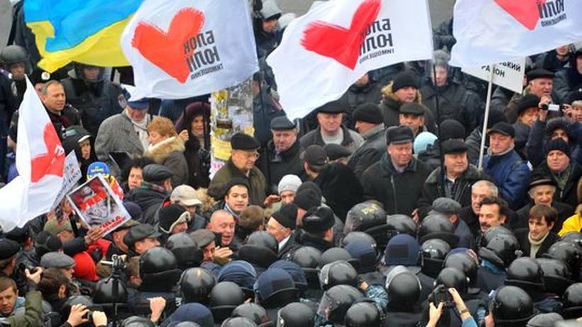 Ukraine: Handgemenge vor Timoschenko-Verhandlung